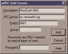 How to set up mIRC 5 11 with Netscape 4 03 under Windows 95